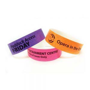 Branding Tyvek Wristbands