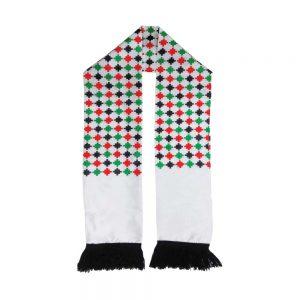 UAE Flag Knitted Scarfs