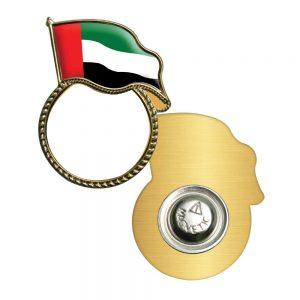 UAE Flag Metal Badges