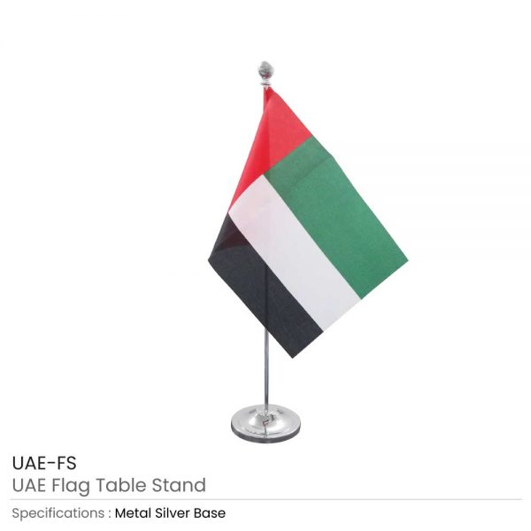 UAE Flag Table Stand