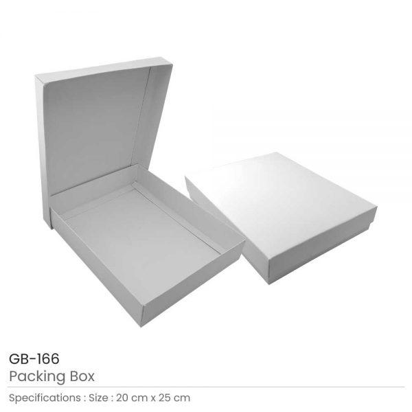 White Packaging Box