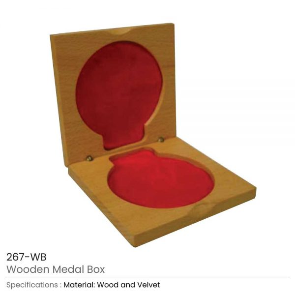 Medal Box - Wooden