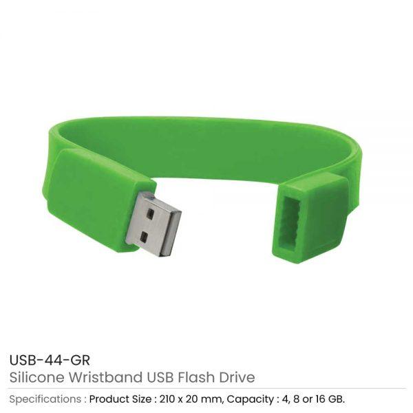 Wristband USB Flash Drive Red