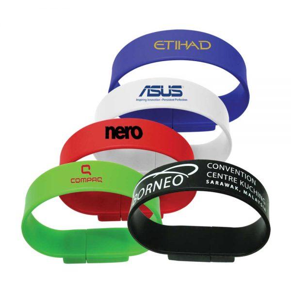 Promotional Wristband USB Flash Drives