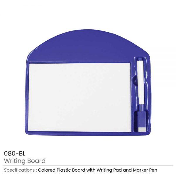 Writing Board Blue