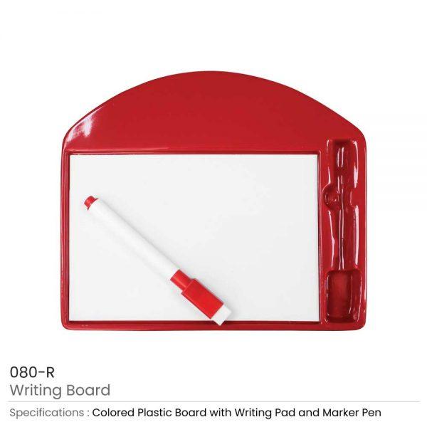 Writing Board Red