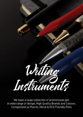 Writing instruments catalog 2022