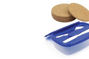 Lunch Box and Tea Coasters