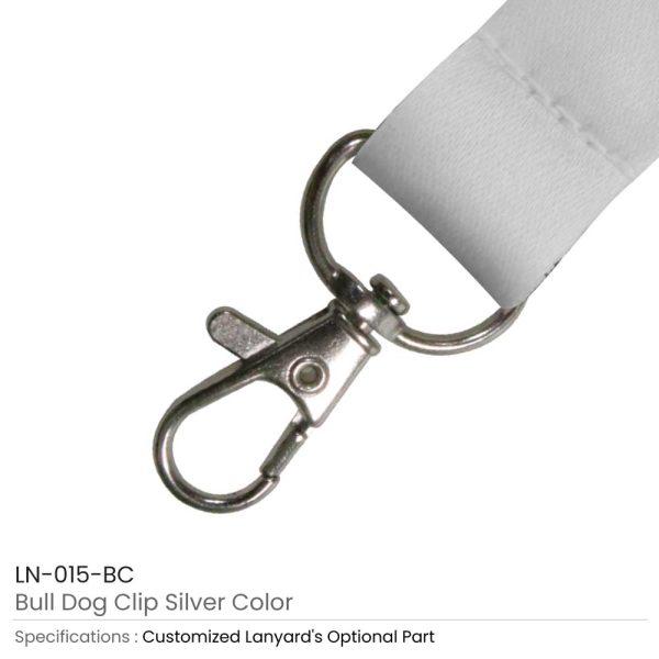 Bulldog Clip Silver
