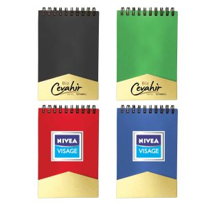 Branding Recycled Notepad with Pen